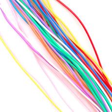 Fils scoubidous couleurs vives x 30 m tres perles co - Livre de scoubidou ...