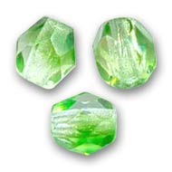 Facettes 4 mm Crystal Green x50