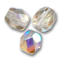 Facettes 4 mm Very Light Smoked Topaz AB x50