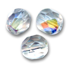 Facettes 4 mm Crystal AB x300