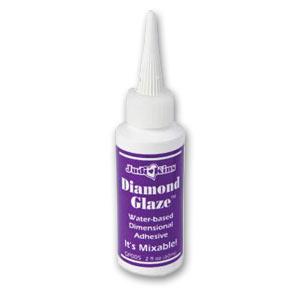 Colle Vernis Diamond Glaze X60ml Perles Co