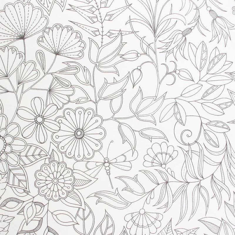 jardin secret carnet de coloriage coloriage perles co. Black Bedroom Furniture Sets. Home Design Ideas