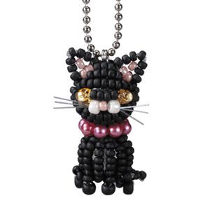 Kit Mascotte Miyuki Halloween Chat Noir Miyuki Perles Amp Co