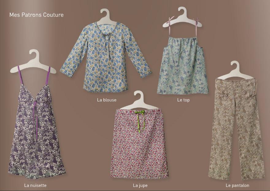 Patrons couture femme Boutique Modes et Travaux