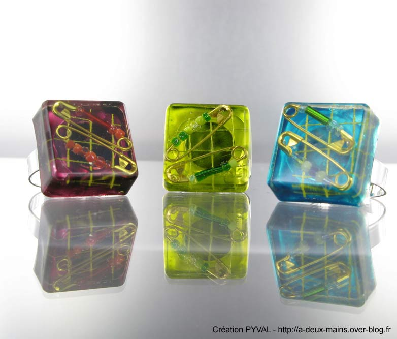R sine d 39 inclusion crystal 39 diamond 150 ml cl op tre perles co - Resine epoxy cristal ...