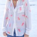 Personalizzare una camicia con vernice Ananas