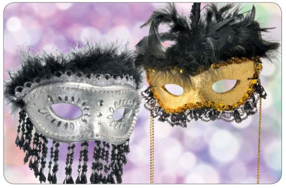 Fabriquer un masque v nitien en fimo air papier mach - Masque de carnaval a fabriquer ...