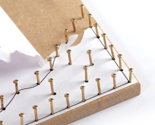 technique string art mod le cactus imprimer perles co. Black Bedroom Furniture Sets. Home Design Ideas