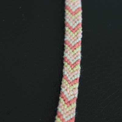 Trio de bracelets brésiliens classique, chevron, épi en fil