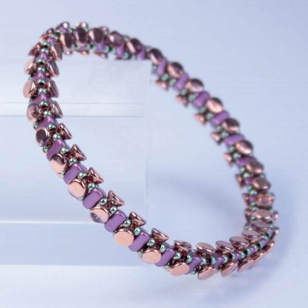 Diy Bracelet Perles En Verre Button Emma Et Miyuki Beads Perles Co