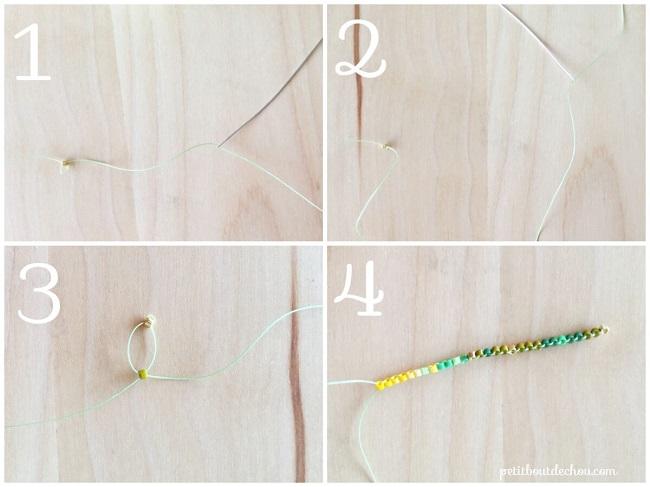 Foglia di ginko dimostrativi-pearls-Miyuki-brick-stitch-RANK1