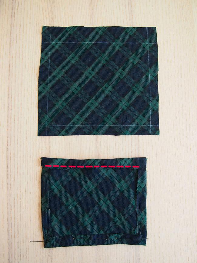 Diy Couture Facile Manteau Cape En Tissu écossais Tartan