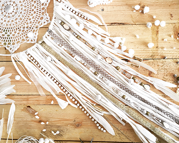 Dreamcatcher Attrape R Ve Diy Facile Napperon Au Crochet Dentelle Perles Co