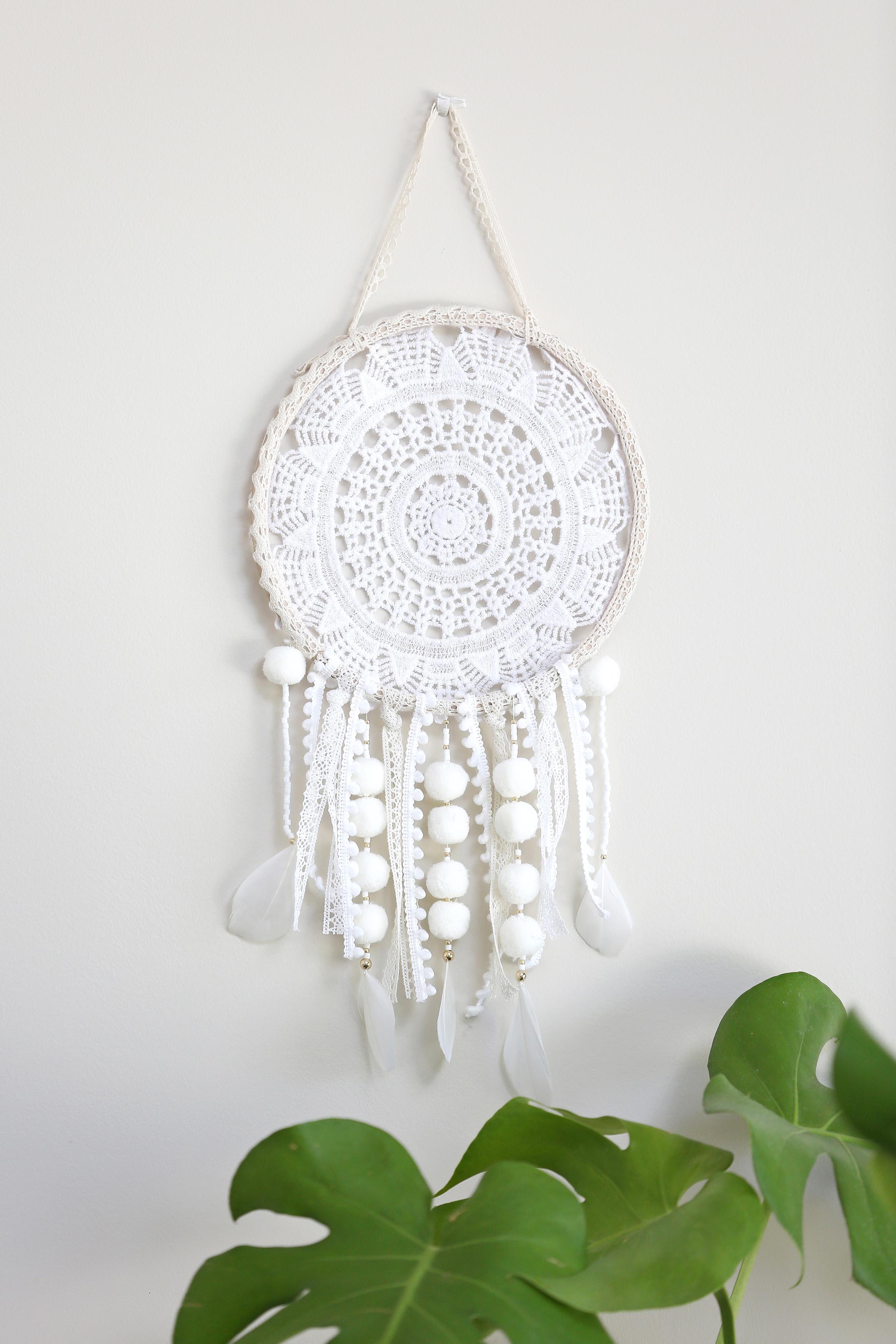 diy dreamcatcher fabriquer un attrape r ve diy simple avec un na perles co. Black Bedroom Furniture Sets. Home Design Ideas