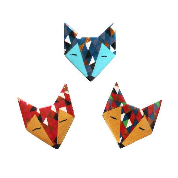 Tete Renard Origami Dessin