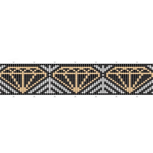 Bracelet Diamant Tissage De Perles Perles Co