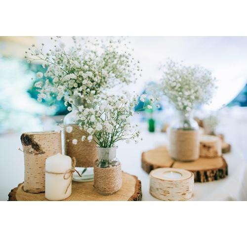 Diy mariage r aliser un centre de table perles co - Comment faire un centre de table pour mariage ...