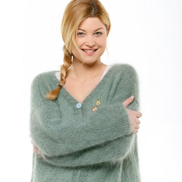 DIY tricot - Gilet Laine Rico Fashion Glitz - Perles   Co ab1d1ee819a9