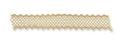 comment faire un noeud papillon droit en dentelle et ruban perles co. Black Bedroom Furniture Sets. Home Design Ideas