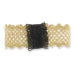 Comment faire un noeud papillon droit en dentelle et ruban perles co - Comment faire un noeud papillon en tissu ...