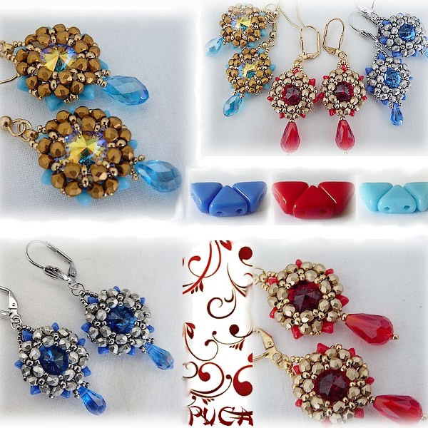 Jenny earrings di Puca