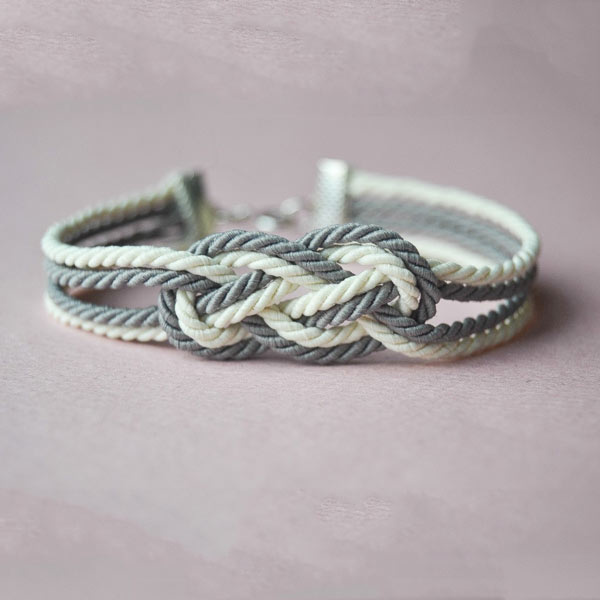 Bracelet Nœud marin Cordons torsadés