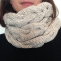 Tricoter un Snood torsadé Laine Rico Essentials