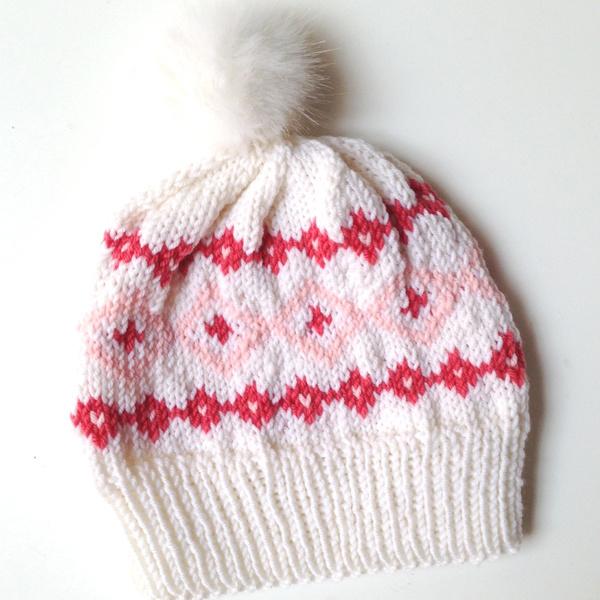 diy tricot bonnet douce laine rico baby m rino et pompon. Black Bedroom Furniture Sets. Home Design Ideas