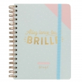 Agenda Semainier 2018 Mr. Wonderful 16x22 cm - Allez lance-toi et BRILLE