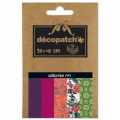 Papier Decopatch Pocket 30x40 cm - collection n°1 x5