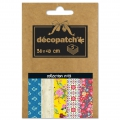 Papier Decopatch Pocket 30x40 cm - collection n°13 x5