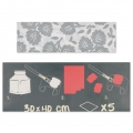 Papier Decopatch Pocket 30x40 cm - collection n°12 x5