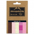 Papier Decopatch Pocket 30x40 cm - collection n°03 x5