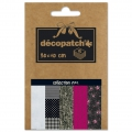 Papier Decopatch Pocket 30x40 cm - collection n°04 x5