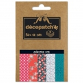 Papier Decopatch Pocket 30x40 cm - collection n°02 x5