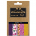 Papier Decopatch Pocket 30x40 cm - collection n°05 x5