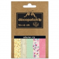 Papier Decopatch Pocket 30x40 cm - collection n°18 x5