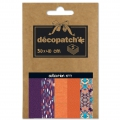 Papier Decopatch Pocket 30x40 cm - collection n°07 x5