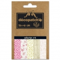 Papier Decopatch Pocket 30x40 cm - collection n°11 x5