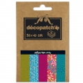 Papier Decopatch Pocket 30x40 cm - collection n°06 x5