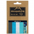 Papier Decopatch Pocket 30x40 cm - collection n°08 x5