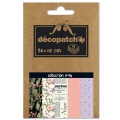 Papier Decopatch Pocket 30x40 cm - collection n°16 x5