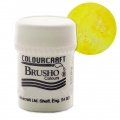 Pigment en poudre aquarellable Brusho Colours - Sunburst Lemon x15 g