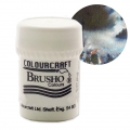 Pigment en poudre aquarellable Brusho Colours - Black x15 g