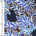 Tissu Liberty - Moonlight Bleu/Marron x10cm