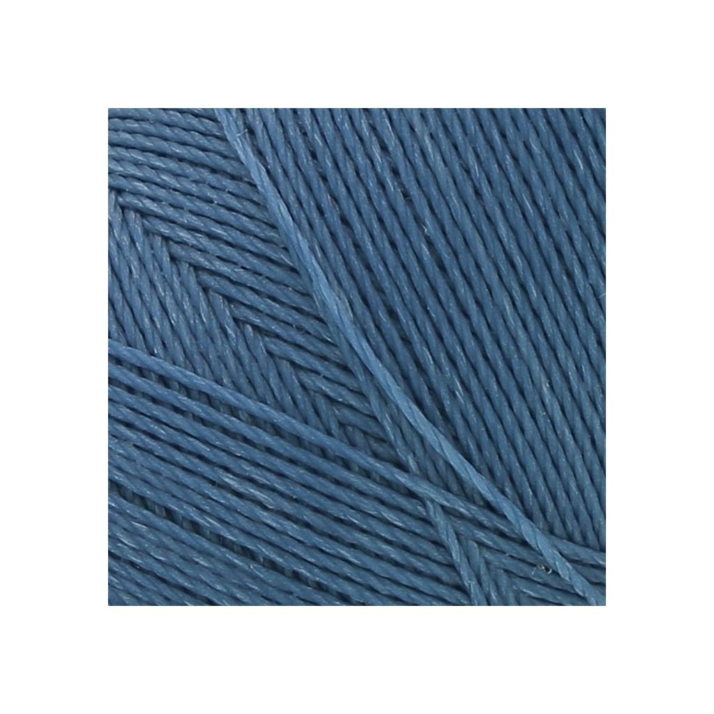 bobine de fil cir linhasita pour micro macram mm denim blue perles co. Black Bedroom Furniture Sets. Home Design Ideas