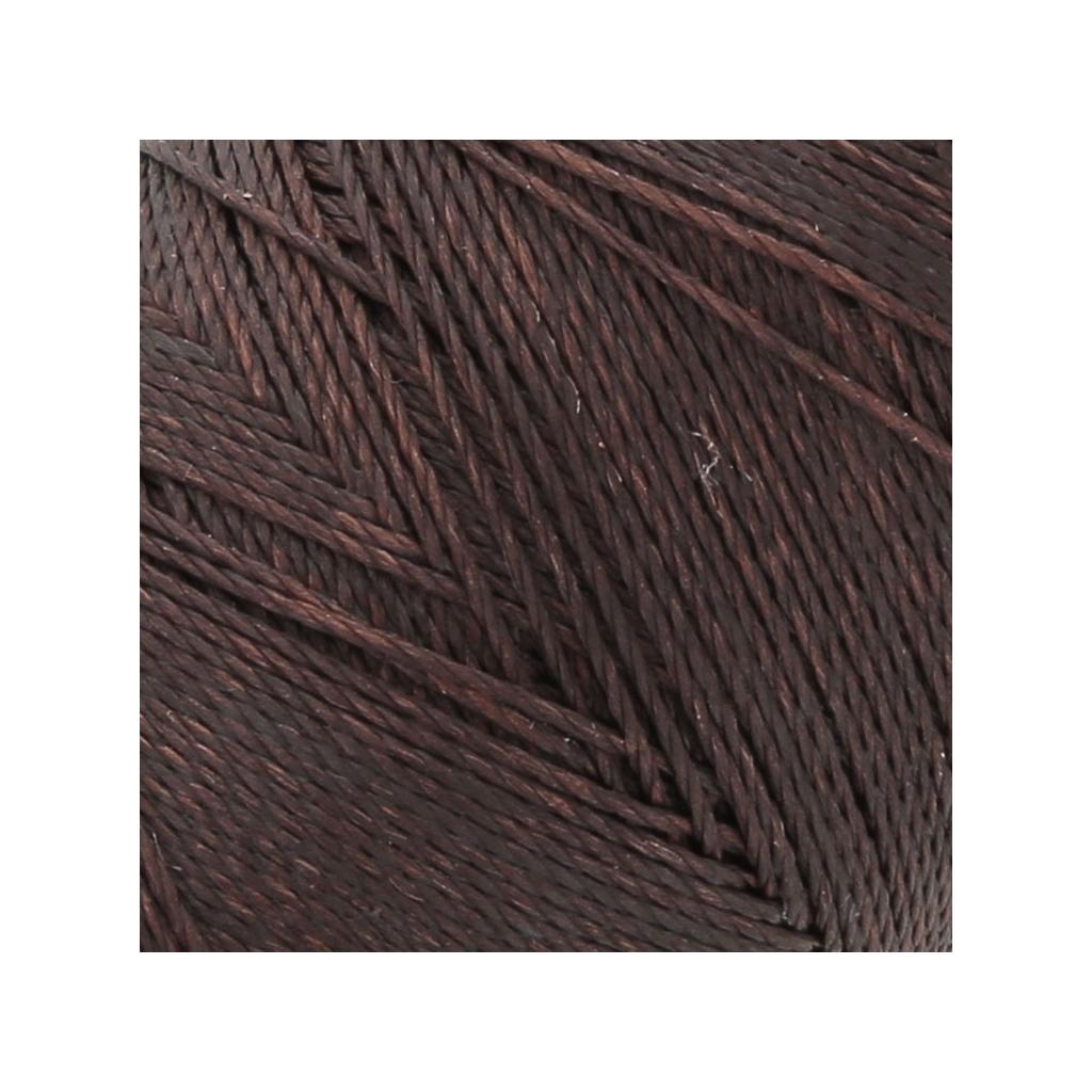bobine de fil cir linhasita pour micro macram mm brown 259 perles co. Black Bedroom Furniture Sets. Home Design Ideas