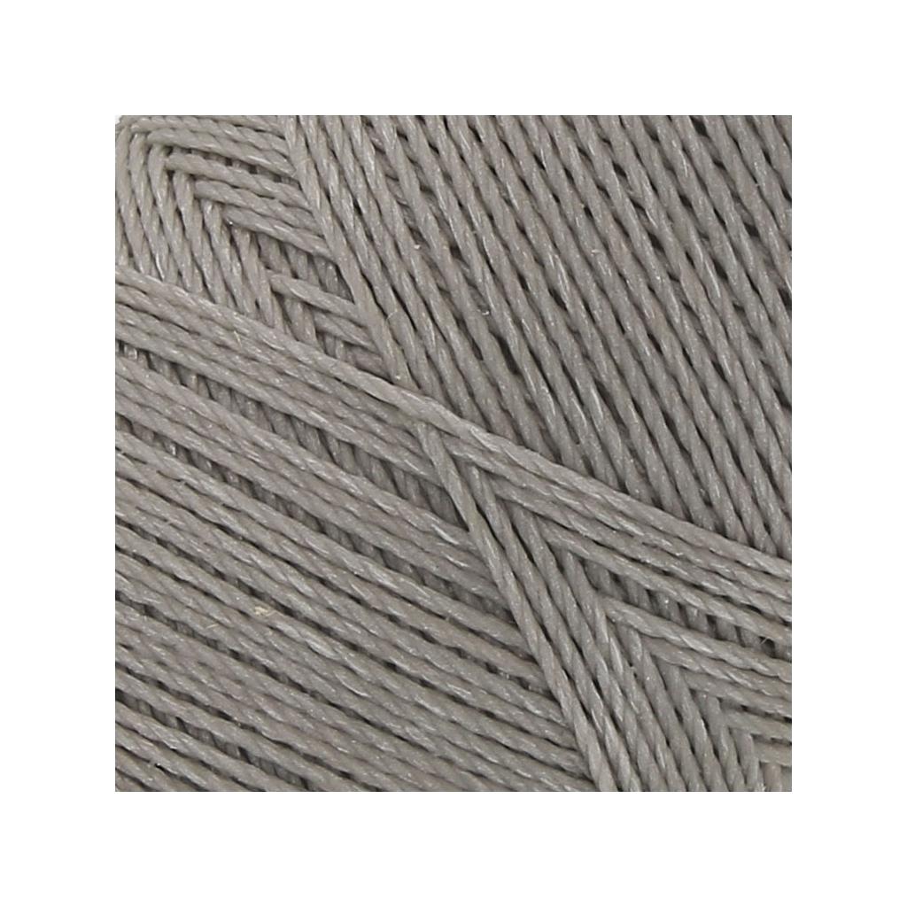 bobine de fil cir linhasita pour micro macram mm grey 208 perles co. Black Bedroom Furniture Sets. Home Design Ideas