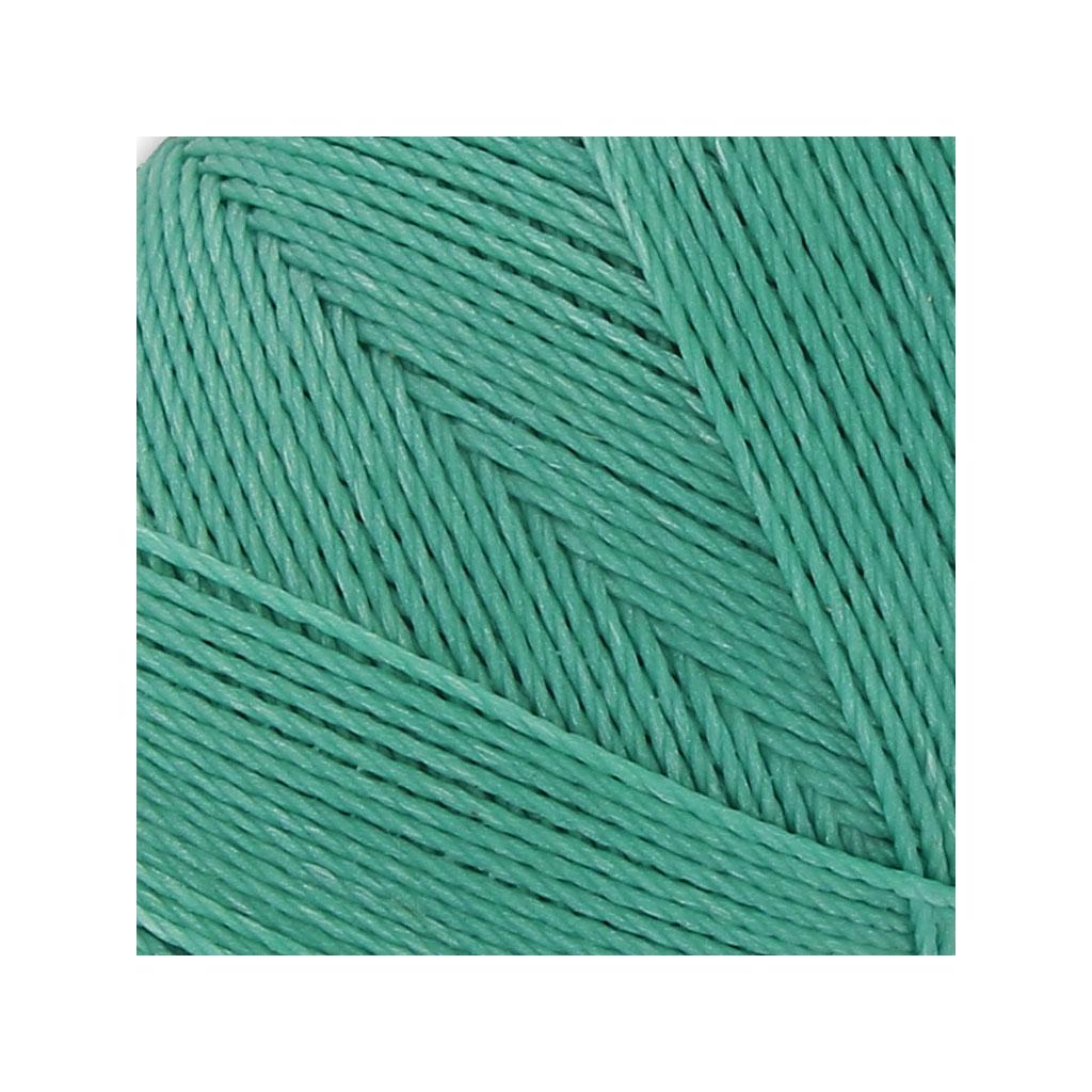 bobine de fil cir linhasita pour micro macram mm green turq perles co. Black Bedroom Furniture Sets. Home Design Ideas