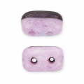 Rullas Duet 3x5 mm Bicolore Black/Opaque Light Rose Ceramic L x10g